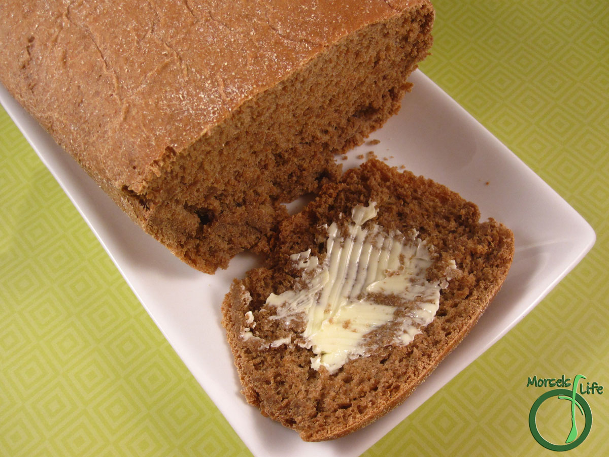 Morsels of Life - Outback Bread - A delightful honey wheat bread with a crunchy outside and a soft and sweet inside.