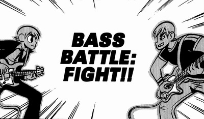 Bass battle in Scott Pilgrim and the Infinite Sadness PDF Download
