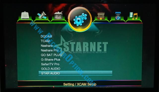 STARNET Q999 1507G 1G 8M NEW SOFTWARE STAR AUDIO & GOLD AUDIO OPTION