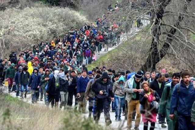 Η μεταναστευτική εισβολή στην Ευρώπη