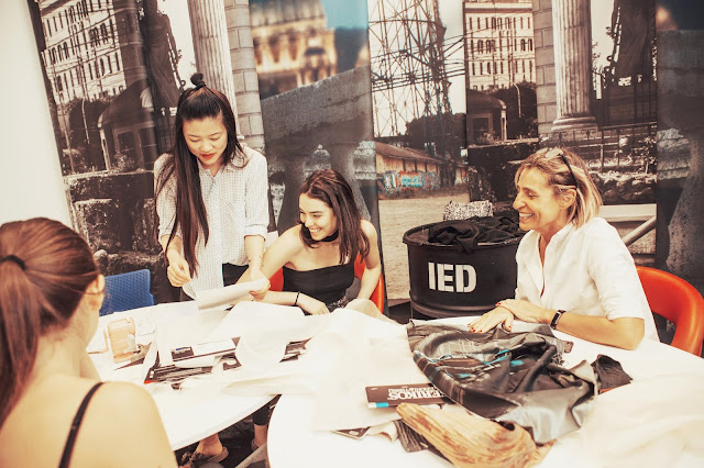 ANGELS OF TALENT: interview with Paola Pattacini, Director of IED School of Fashion of Rome