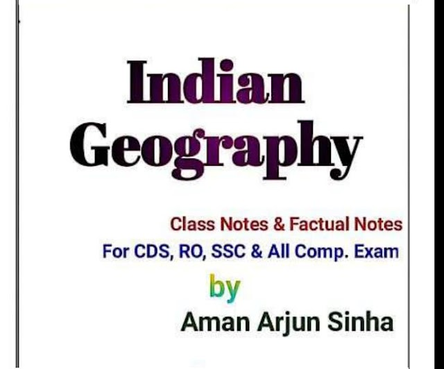 Indian Geography Class Notes and Factual Notes in English PDF Download