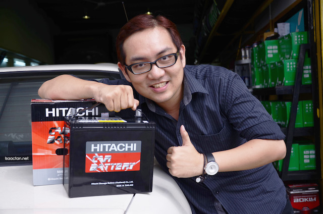 Hitachi Automotive Battery - MFX Series With 2 Years Warranty