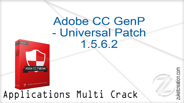 Adobe CC GenP – Universal Patch 1.5.6.2    |   17 MB