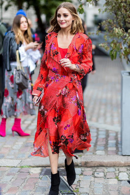 Street Style at London Fashion Week Spring 2018: Olivia Palermo