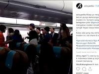 Mabuk dan Ngamuk, Seorang Penumpang Wanita Diturunkan Dari Pesawat Garuda