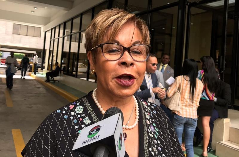 """Lila Alburquerque asegura que tienen el """"tiempo preciso"""" para reforma a la Constitución"""