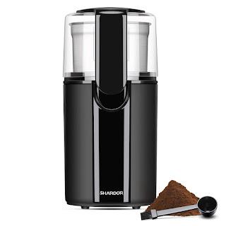 SHARDOR Coffee Grinder Electric, Electric Coffee Blade Grinders