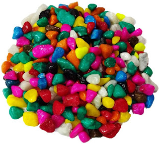 DS Multi-Colored Pebbles/Gravels/Stone, 475g