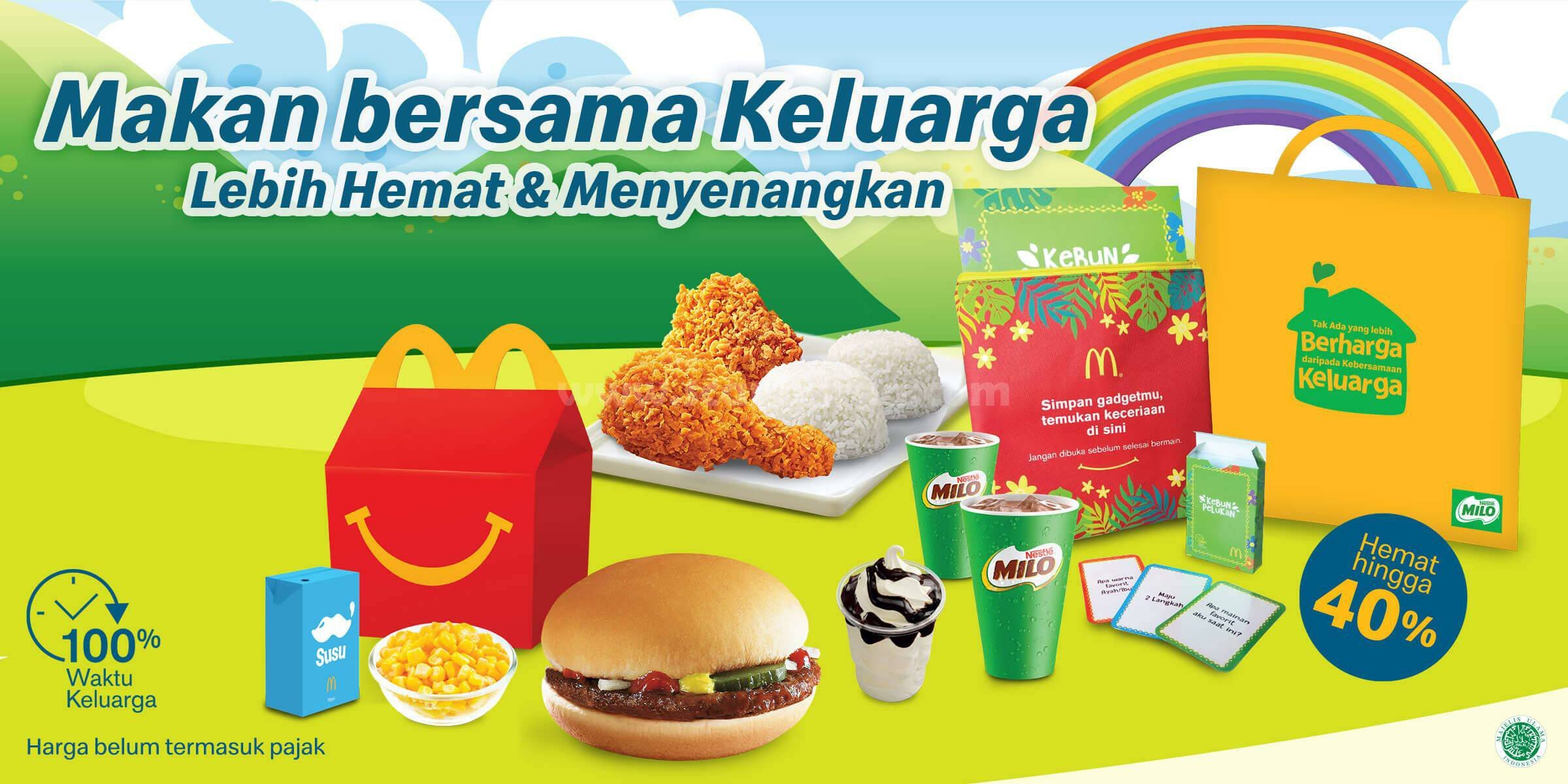 McDonalds Promo Paket Family McD Hemat Hingga 40%