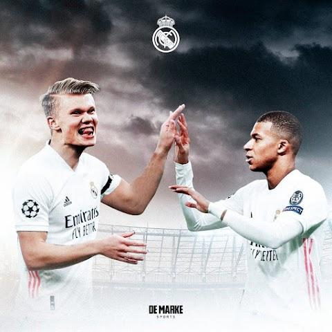 El Real Madrid no tiene dudas ¿Haaland o Mbappé?