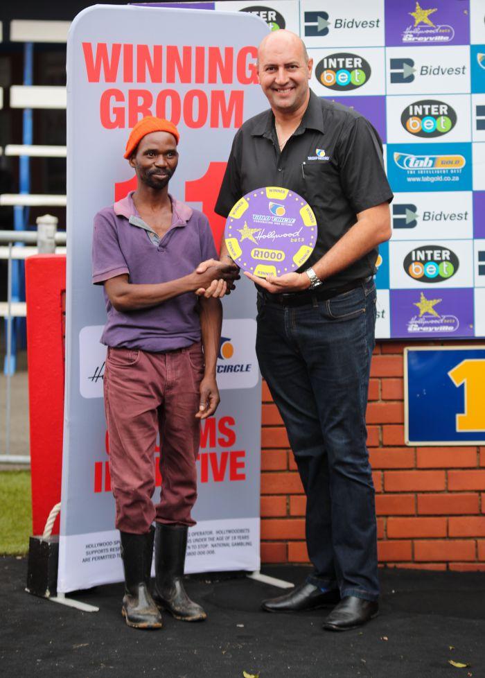 Grooms Initiative Winner - 26th December 2019 - Race 6 - Mkhuseli Nduna - THE DAZZLER