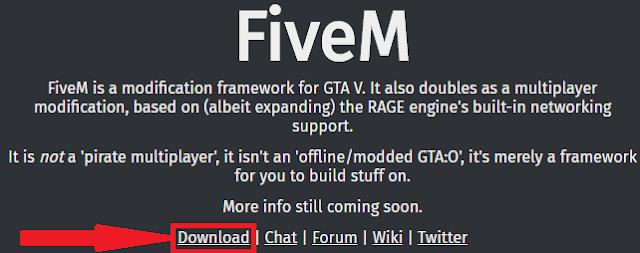 تحميل برنامج fiveM للعب GTA 5 اون لاين مجانا