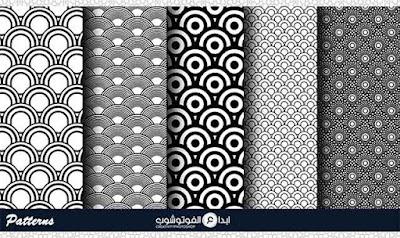 assorted japanese pattern set