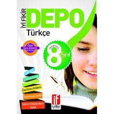 İyi Fikir Yayınları - 8. Sınıf İyi Fikir Depo Türkçe (Konu Anlatımlı Soru Bankası)