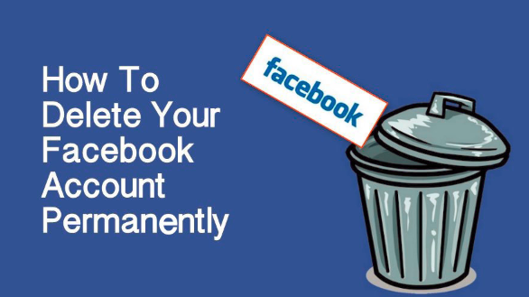 How to delete facebook account completely ccuart Choice Image