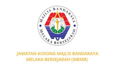 Jawatan Kosong Majlis Bandaraya Melaka Bersejarah 2019 (MBMB)