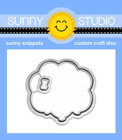 Sunny Studio Stamps: Floating By Balloon Bouquet 2x3 Metal Cutting Dies
