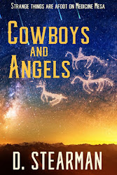 Deep in the Arizona red-rock country, Jessi catches cowboy Slade with one of her prize horses.