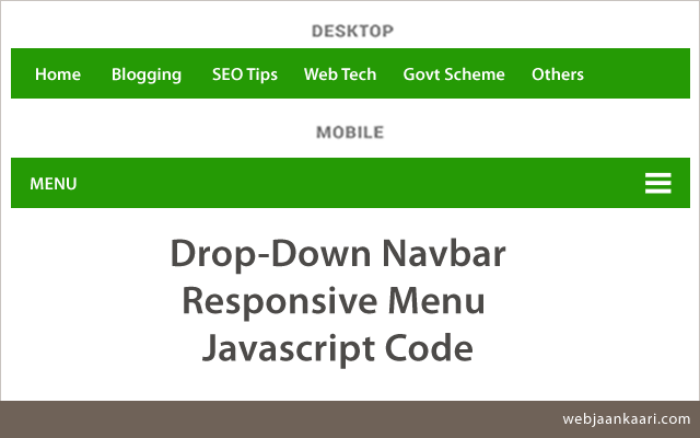 how-to-drop-down-navbar-responsive-mobile-menu-create