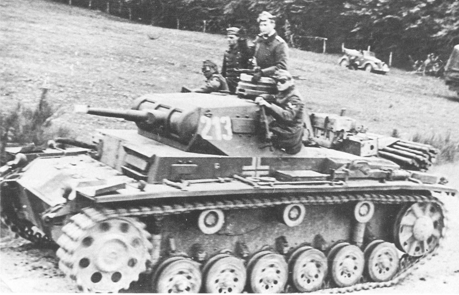 Panzerkampfwagen III Ausf. E & Ausf. F - Questions, Information ...