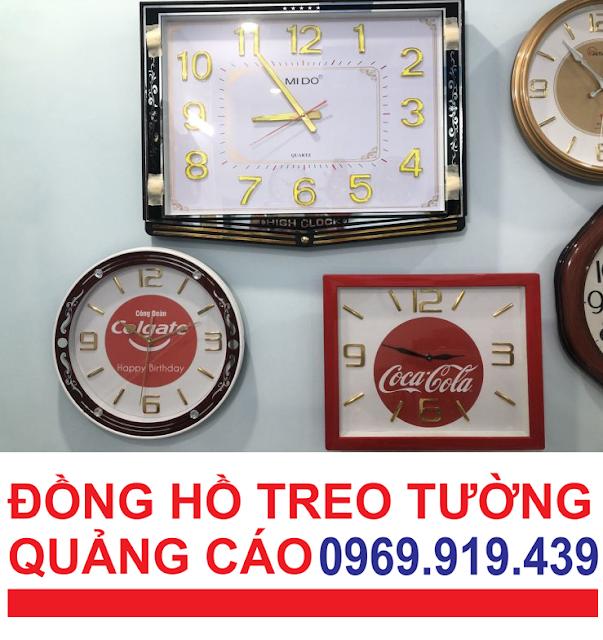 Nhận in đồng hồ hợp đồng quảng cáo, đồng hồ treo tường, in đồng hồ treo tường giá rẻ tại Tây Ninh