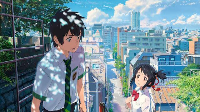 Película Your Name de Makoto Shinkai