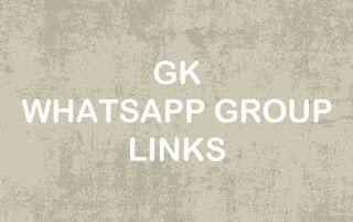 GK WhatsApp Group Link