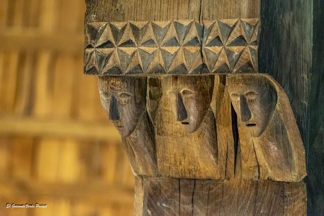 La Antigua, cabezas de tres hombres - Zumarraga