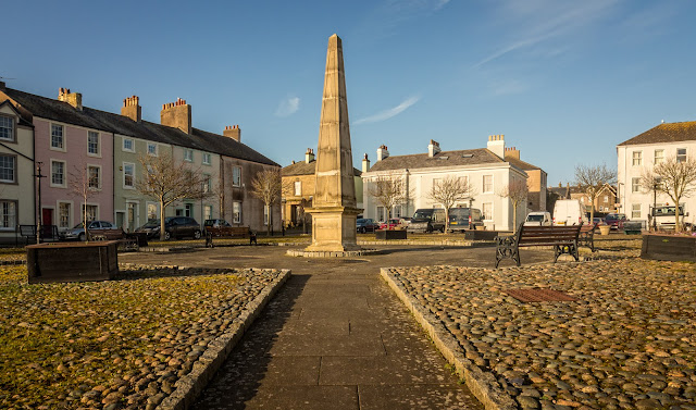 Photo of another view of Fleming Square at Maryport
