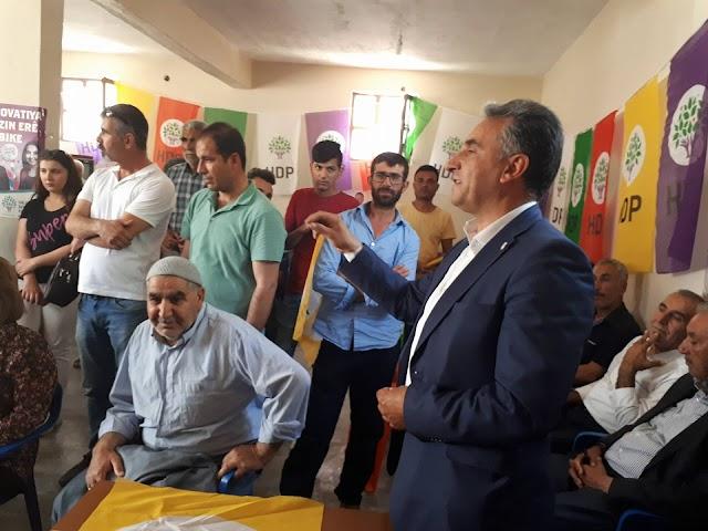 HDP kırsalda seçim ofisi açtı