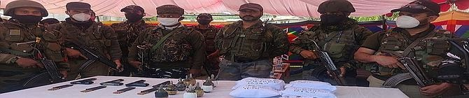 Major Narco-Terror Module Busted By Baramulla Police Along With Army And CRPF; 10 Arrested