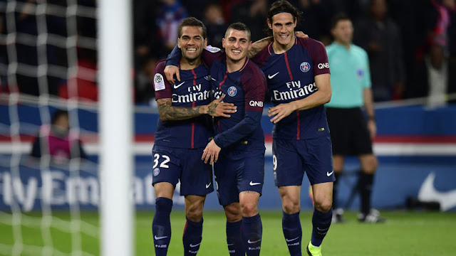 Neymar watch from the stands: Cavani doubles up to send PSG seven points  clear