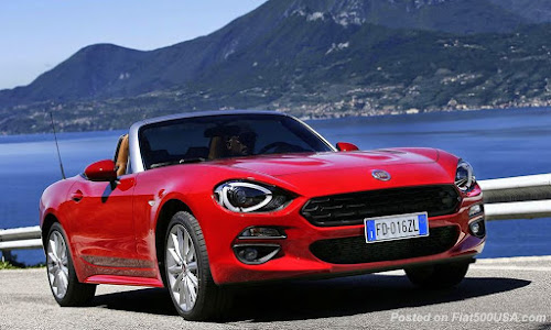 Fiat 124 Spider in Italy