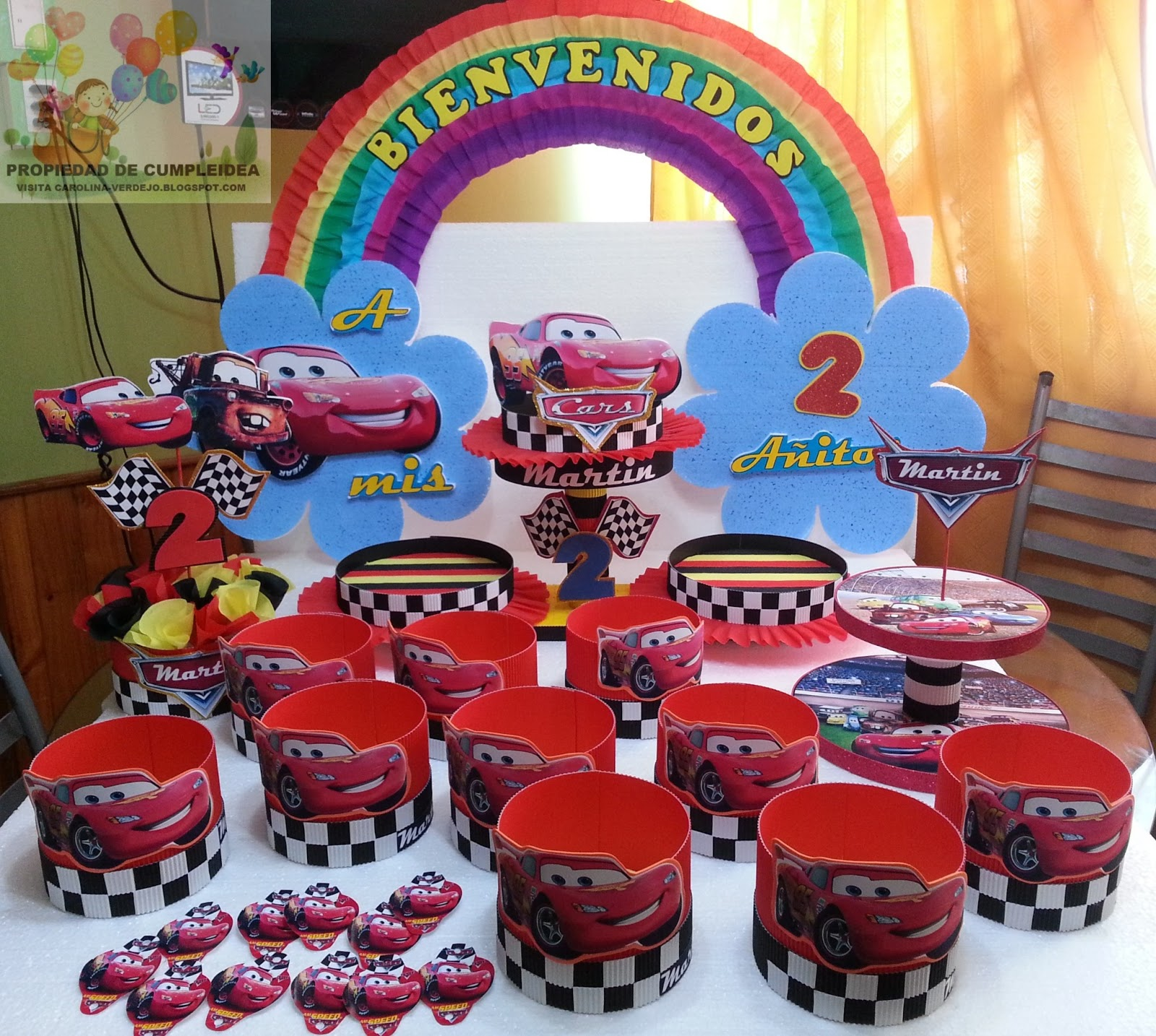 Decoraciones Infantiles Cars