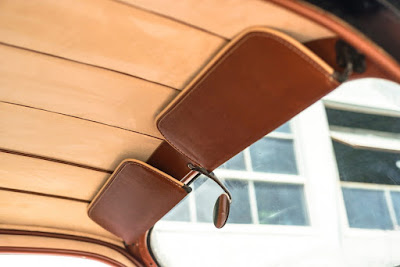 Lincoln Zephyr V12 Twin-Grille Classic Car Interior 04