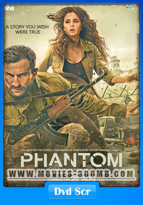 Phantom 2015 Hindi DVDScr Poster
