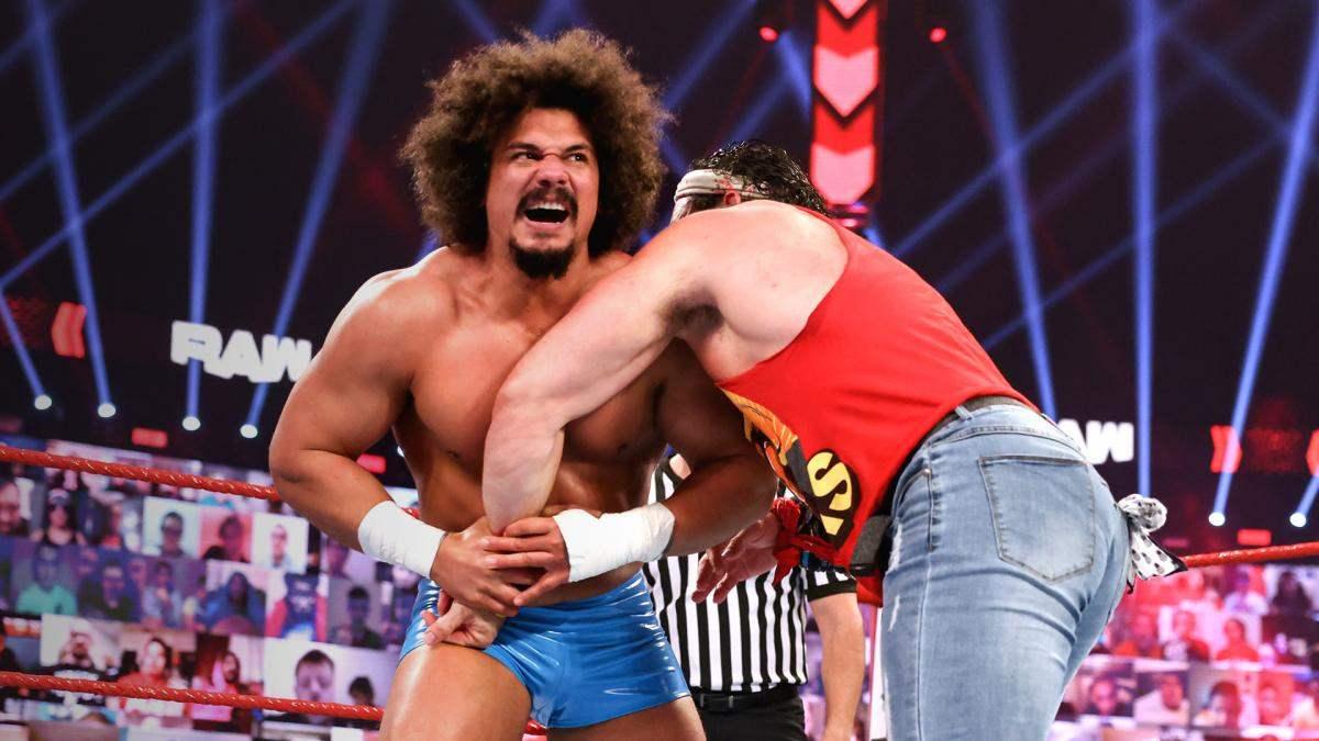 Carlito não teve mais contato com a WWE desde sua aparição no RAW