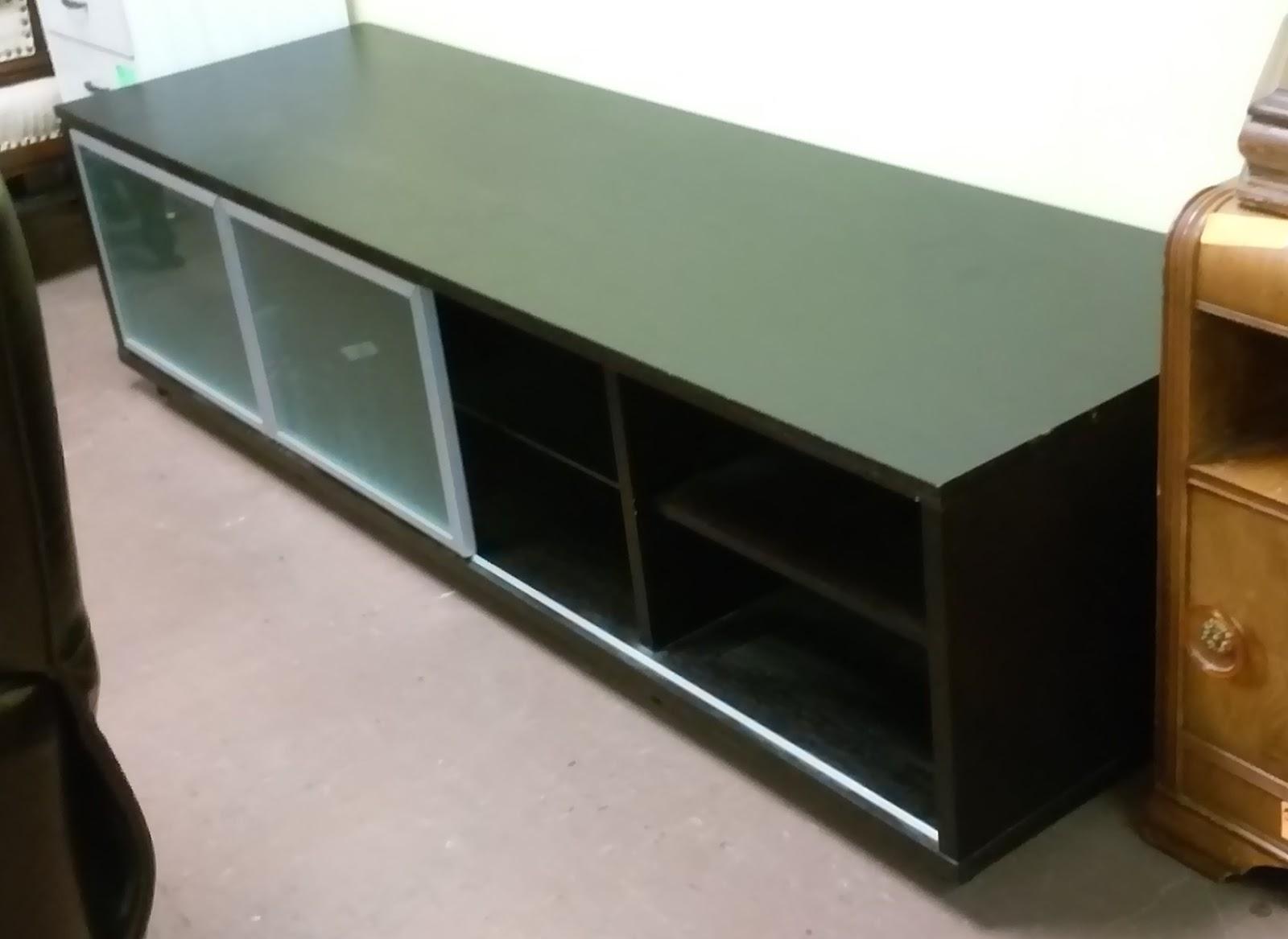 uhuru furniture collectibles sold reduced 75 long espresso ikea tv stand 45. Black Bedroom Furniture Sets. Home Design Ideas