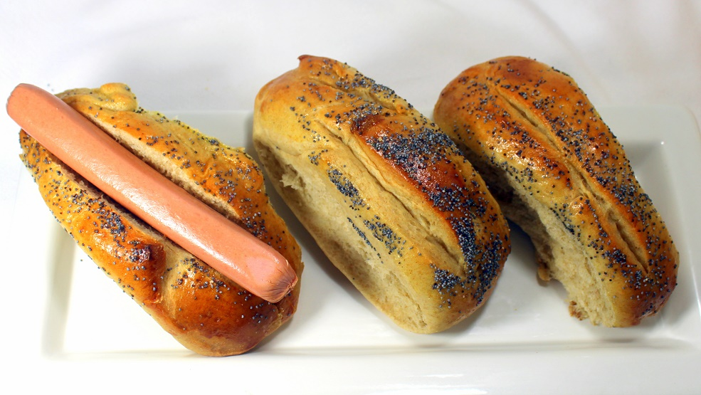 Hot Dog Buns Poppy