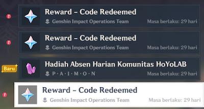 kode redem