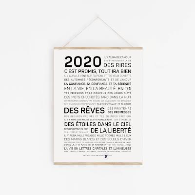 2020 : Mes douces et merveilleuses résolutions !