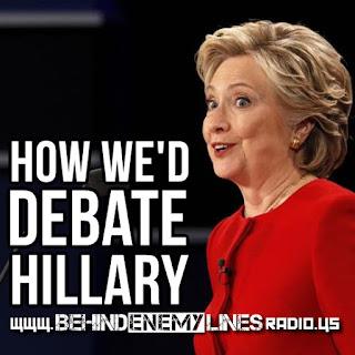 Election 2016, Hillary Clinton, Donald Trump, Behind Enemy Lines Radio