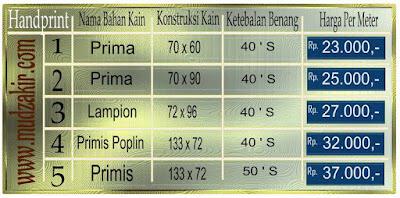 Grosir Kain batik di Surabaya jenis printing sudah dengan mesin pabrik