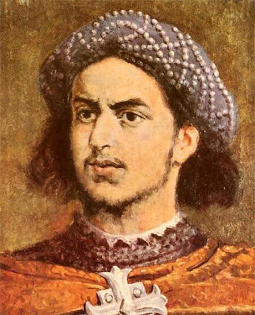 O jovem Cristóvão Colombo
