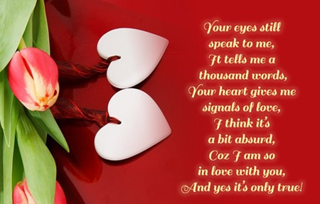 valentine msg