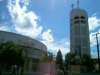 Igreja São José, em Cachoeira do Sul: Prédio e Torre Circulares