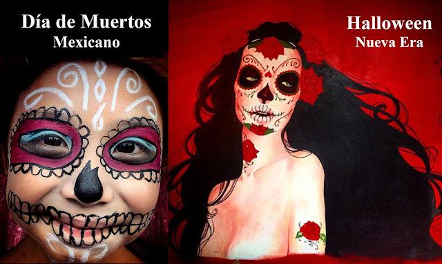 Día de Muertos y Halloween son tradiciones diferentes. Conoce las diferencias entre estas celebraciones.