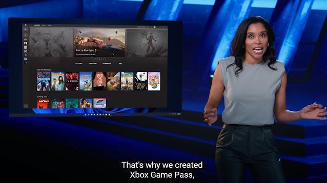 2021 Windows 11 event Xbox Game Pass