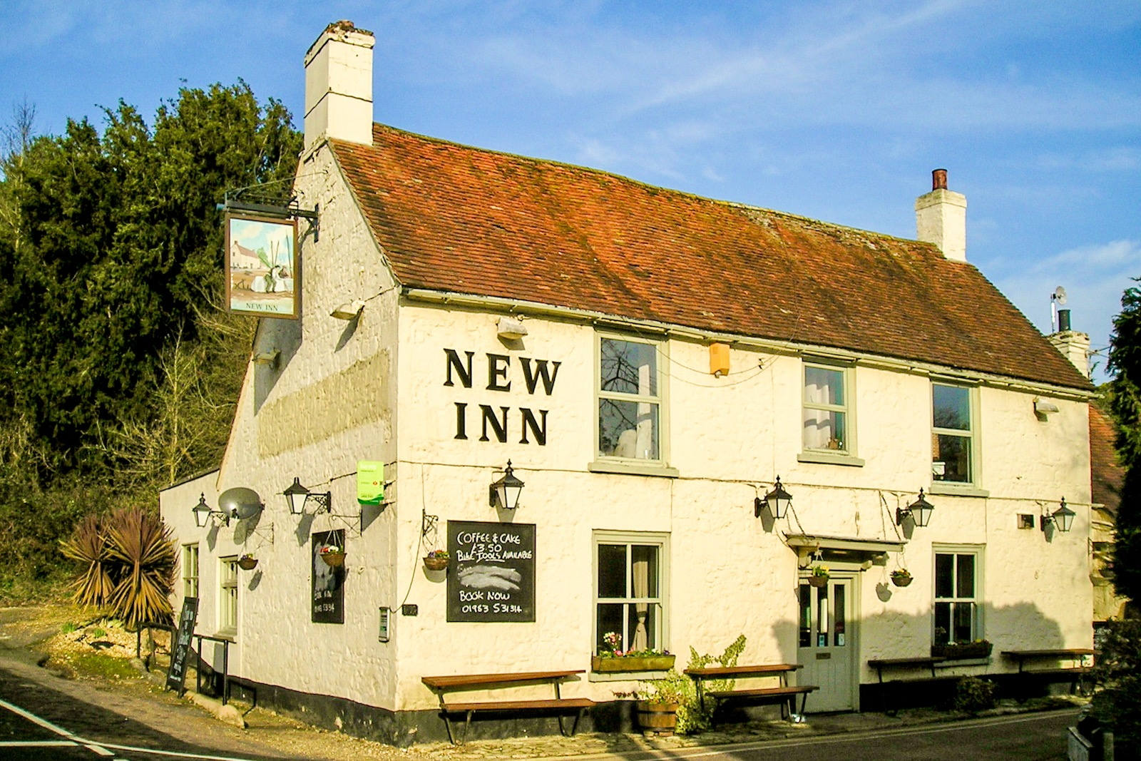 The New Inn Shalfleet 2003